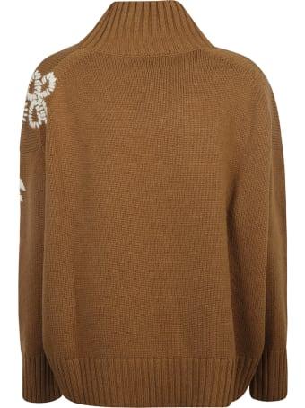 Ermanno Scervino Ribbed Neck Sweater