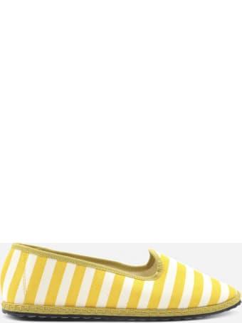 Vibi Venezia Furlane Gondola Yellow In Cotton