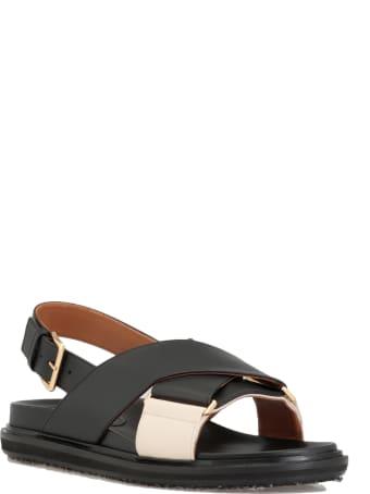 Marni Leather Sandal