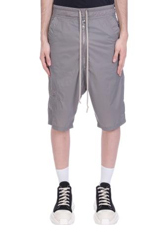 Rick Owens Pants In Grey Polyamide