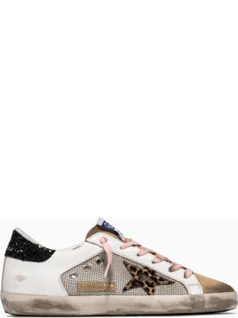 Golden Goose Deluxe Brand Super Star Net Sneakers Gwf00103 F001598
