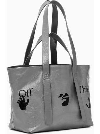 Off-White Commercial Tote Shopper Bag Owna143s21lea001