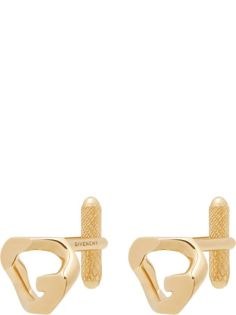 Givenchy Gold G Chain Cufflinks