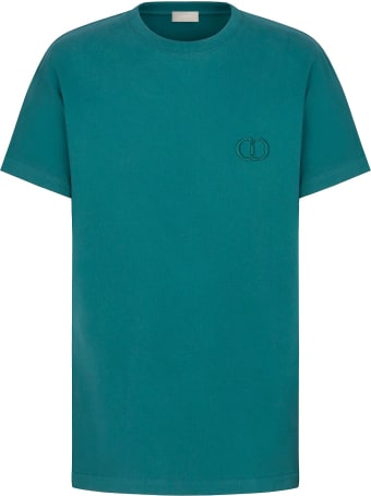 Dior Homme T-shirt In Green Cotton
