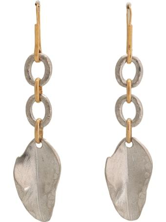 Marni Leaf Pendants Earrings