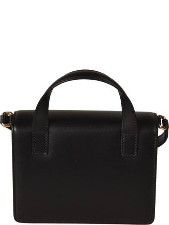 Dolce & Gabbana Logo Plaque Top Handle Flap Shoulder Bag