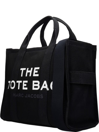 Marc Jacobs Tote In Black Canvas