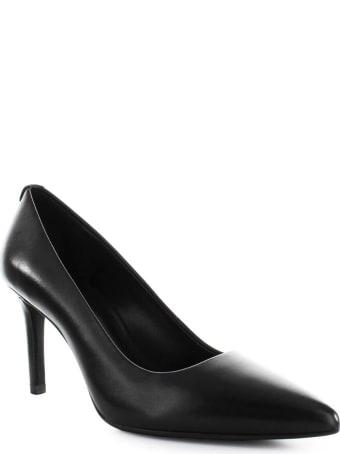 Michael Kors Dorothy Flex Black Leather Pump