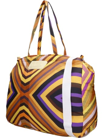 Formy Studio Shoulder Bag In Yellow Polyester