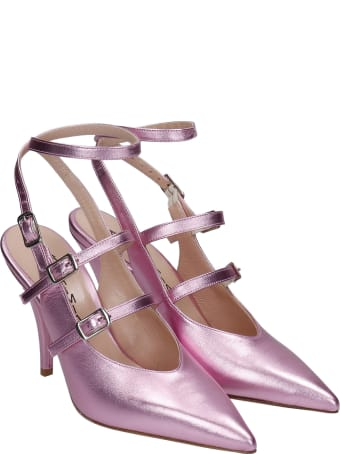 Alchimia Pumps In Rose-pink Leather