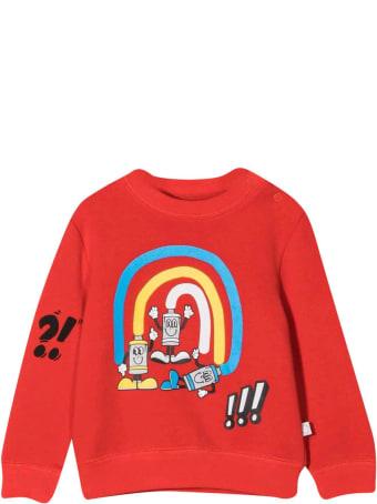 Stella McCartney Kids Newborn Red Sweatshirt