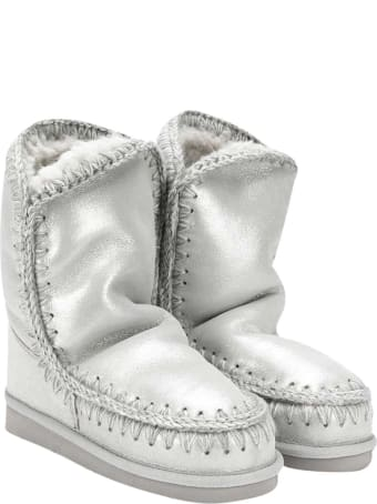 Mou Silver Boots