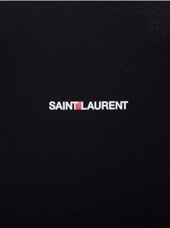 Saint Laurent Jersey Logo T-shirt