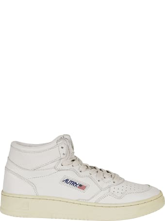 Autry High-cut Logo Patched Sneakers