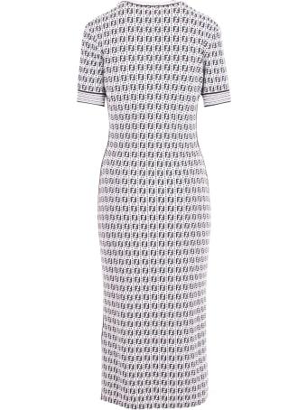 Fendi 'ff Motiv' Viscose Dress