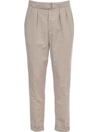 Officine Générale Beige Cotton Trousers