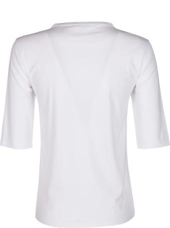 Malo White Cotton T-shirt