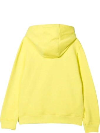 Lanvin Yellow Teen Boy Sweatshirt