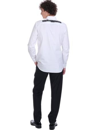 Givenchy Shirt In White Cotton