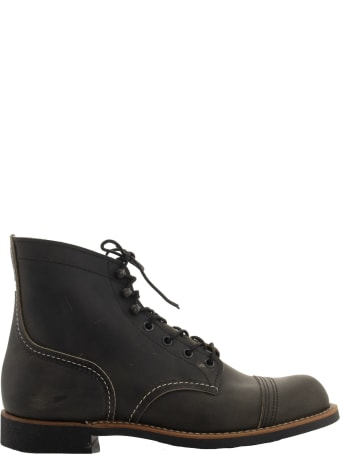 Red Wing Iron Ranger Charcoal