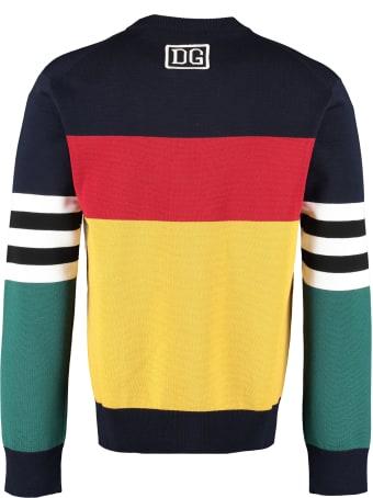Dolce & Gabbana Crew-neck Wool Sweater