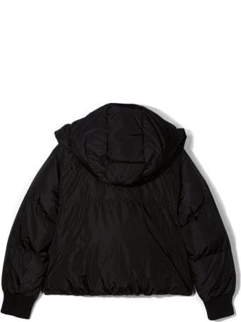 Maison Margiela Black Hooded Zipped Jacket