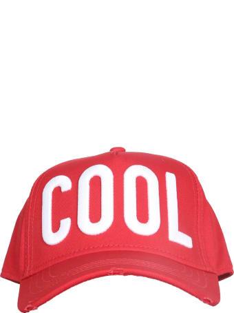 Dsquared2 Cotton Baseball Hat