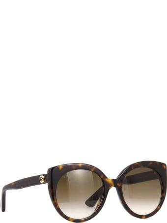 Gucci Gucci Gg0325s Havana Sunglasses