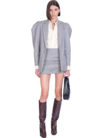 WANDERING Blazer In Grey Wool