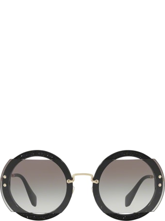 Miu Miu Miu Miu Mu 06ss Black Sunglasses