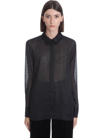 Alexandre Vauthier Blouse In Black Polyester