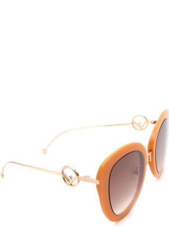 Fendi Fendi  Ff 0409/s Brown Sunglasses
