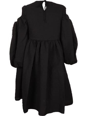 Cecilie Bahnsen Janessa Puff Sleeve Dress W Tulip Skirt