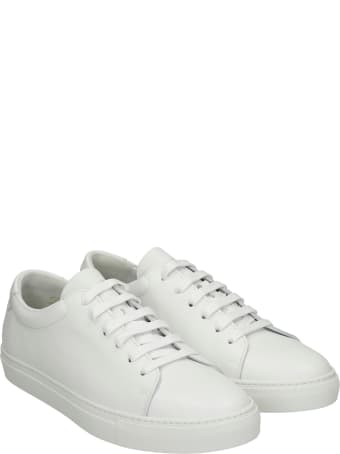 National Standard Sneakers In White Leather