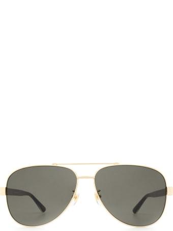Gucci Gucci Gg0528s Gold Sunglasses