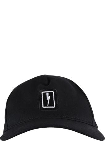 Neil Barrett Black Hat For Kids