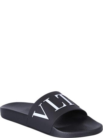 Valentino Garavani Branded Slide Sandals
