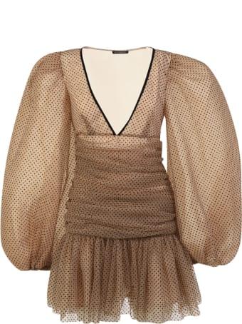 WANDERING Polka Dot Mini Dress