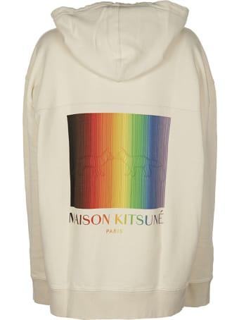Maison Kitsuné Gradient Rainbow Hoodie