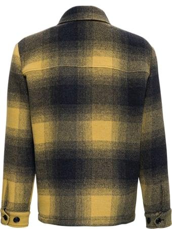 Aspesi Check Wool Blend Jacket