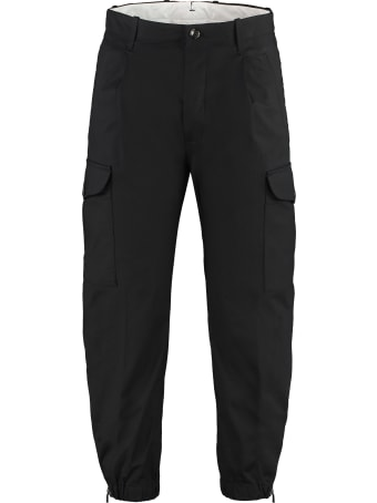 Nine in the Morning Cotton Cargo-trousers