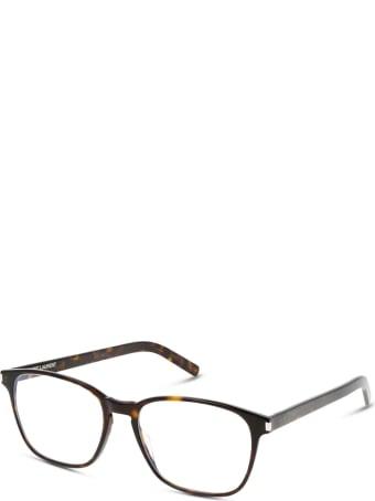 Saint Laurent Saint Laurent Sl 186-b Slim Dark Havana Glasses