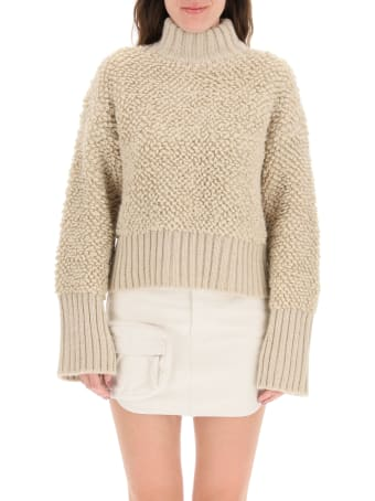 The Attico Turtleneck Wool Sweater