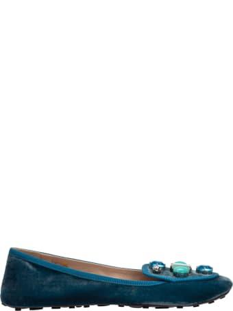Car Shoe Love Ballet Pumps