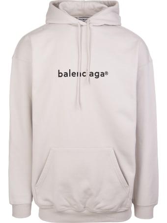 "Balenciaga Unisex Grey ""new Copyright"" Hoodie"