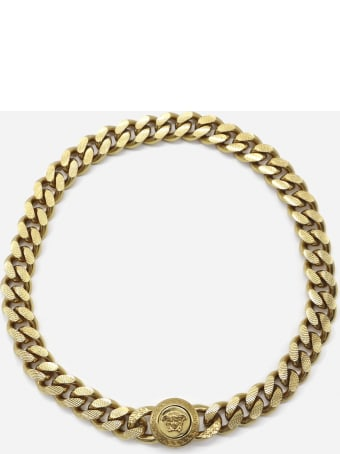 Versace Medusa Choker Necklace