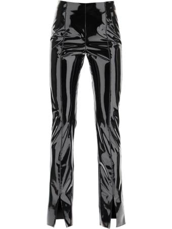 MSGM Vinyl Trousers