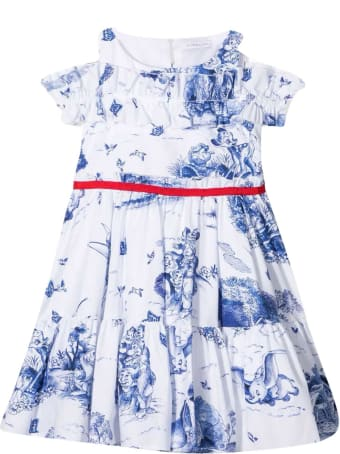 Monnalisa Disney Dress With Print