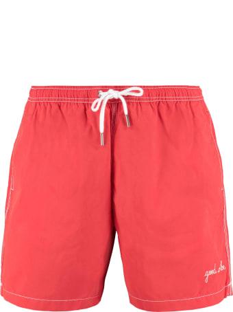 Maison Labiche Embroidered Swim Shorts