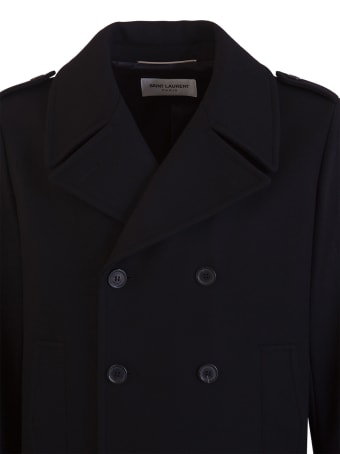 Saint Laurent Military Pea Coat